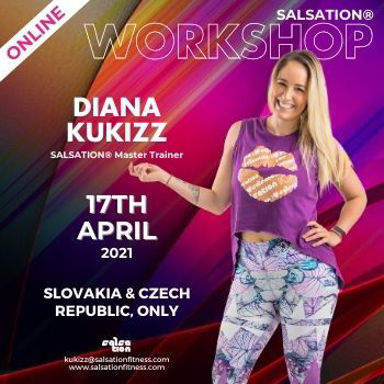 Picture of SALSATION Workshop with Kukizz, Online, Slovakia and Czech Republic, 17 Apr 2021