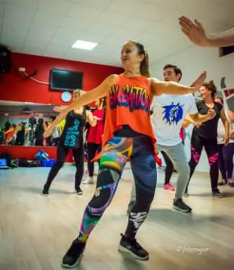 Picture of SALSATION® class with Mar Mayor Angulo, Thursday, 19:00
