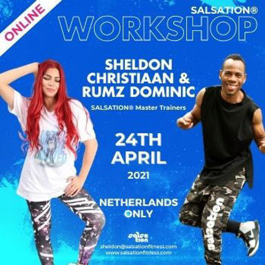 Picture of SALSATION Workshop with Sheldon and Rumz, Online, Netherlands only, 24 Apr 2021
