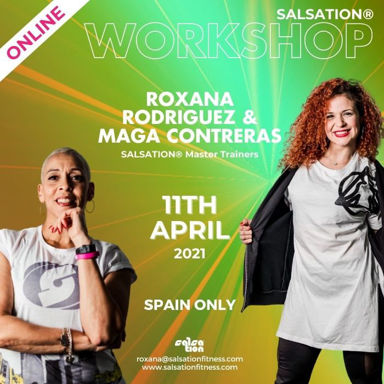 Picture of SALSATION Workshop with Roxana and Maga, Online, Spain only, 11 Apr 2021