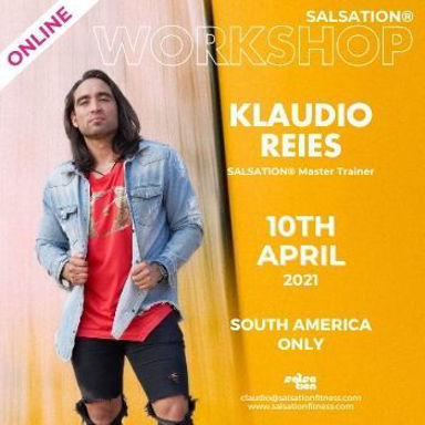 Picture of SALSATION Workshop with Klaudio Reies, Online, South America Only, 10 Apr 2021