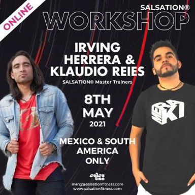 Picture of SALSATION Workshop with Klaudio and Irving, Online, Mexico & South America, 08 May 2021