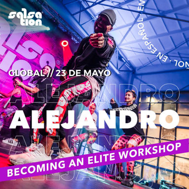 Picture of Becoming an Elite Workshop in Spanish with Alejandro Angulo, Online, Global, 23 May 2021