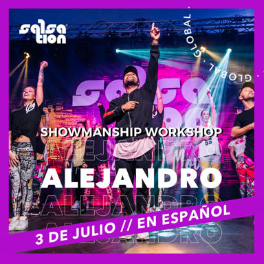 Picture of Showmanship Workshop in Spanish with Alejandro Angulo, Online, Global, 03 Jul 2021