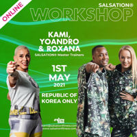 Picture of SALSATION Workshop with Kami, Yoandro and Roxana, Online, Korea only, 01 May 2021