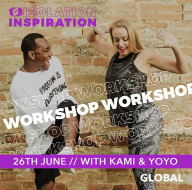 Picture of Isolation Inspiration Workshop with Kami and Yoandro, Global, Online, 26 Jun 2021