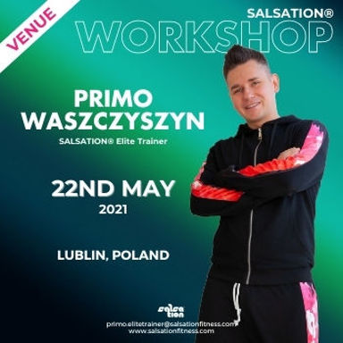 Picture of SALSATION Workshop with Primo, Venue, Lublin, Poland, 22 May 2021