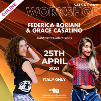 Picture of SALSATION® Workshop with Ica and Grace, Online, Italy only, 25 Apr 2021