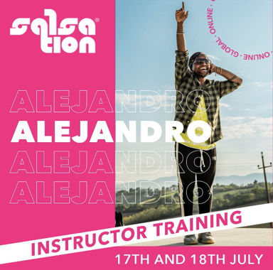 Picture of SALSATION, Instructor training with Alejandro, Online, Global, 17 Jul 2021 - 18 Jul 2021