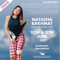 Picture of SALSATION, Instructor training with Natasha, Venue, Indonesia, 12 Jun 2021 - 13 Jun 2021