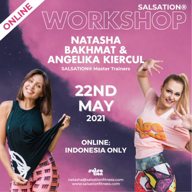 Picture of SALSATION, Workshop with Natasha & Angelika, Online, Indonesia only, 22 May 2021