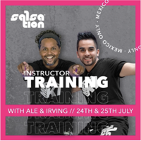Picture of SALSATION Instructor training with Alejandro and Irving, Online, Mexico Only, 24 Jul 2021 - 25 Jul 2021