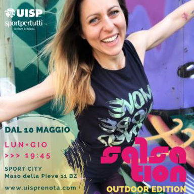 Picture of SALSATION® class with Martina Gallo, Thursday, 19:45