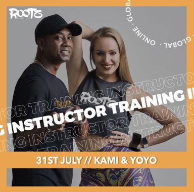 Picture of ROOTZ Instructor training with Kami and Yoandro, Online, Global, 31 Jul 2021