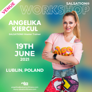 Picture of SALSATION Workshop with Angelika, Venue, Lublin, Poland, 19 Jun 2021
