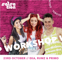 Picture of SALSATION Workshop with Eka, Rumz and Primo, Online, Global, 23 Oct 2021