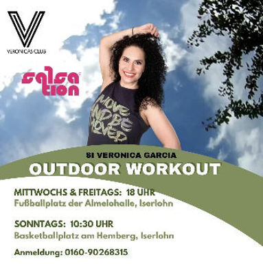 Picture of SALSATION® class with Veronica Garcia de Witzleb, Sunday, 10:30