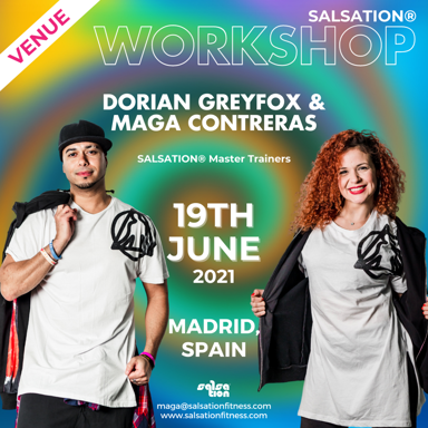 Picture of SALSATION Workshop with Maga and Dorian, Offline, Madrid, Spain, 19 Jun 2021
