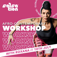 Picture of SALSATION Workshop with Roxana, Online, Global, Afro-Contemporary Edition, 10 Jul 2021
