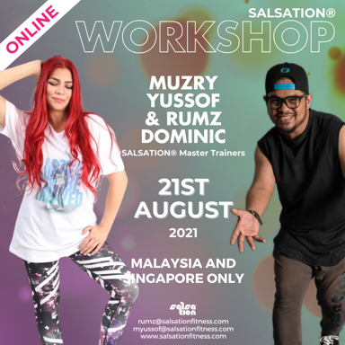 Picture of SALSATION, Workshop with Muzry and Rumz, Online, Malaysia and Singapore Only, 21 Aug 2021