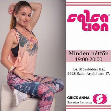 Picture of SALSATION® class with Anna Grics, Monday, 19:00