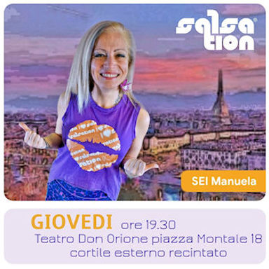 Picture of SALSATION® class with Manuela Bovo, Thursday, 19:30