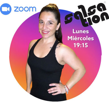 Picture of SALSATION® class with Melisa Gomez, Monday, 19:15