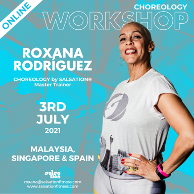 Picture of CHOREOLOGY, Workshop with Roxana, Online, Malaysia, Singapore and Spain, 03 Jul 2021