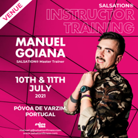 Picture of SALSATION, Instructor training with Manuel, Offline, Póvoa de Varzim, Portugal, 10 Jul 2021 - 11 Jul 2021