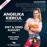 Picture of SALSATION, Instructor training with Angelika, Offline, Podlaskie, Poland, 21 Aug 2021 - 22 Aug 2021
