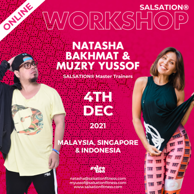 Picture of SALSATION, Workshop with Muzry and Natasha, Online, Malaysia, Singapore and Indonesia,  04 Dec 2021