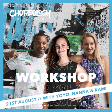 Picture of CHOREOLOGY, Workshop with Kami, Yoandro and Nanna, Online, Global, 21 Aug 2021