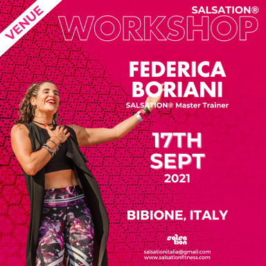 Picture of SALSATION, Workshop with Federica, Onsite, Bibione, Italy, 17 Sep 2021