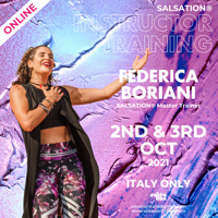 Picture of SALSATION, Instructor training with Federica, Online, Italy, 02 Oct 2021 - 03 Oct 2021