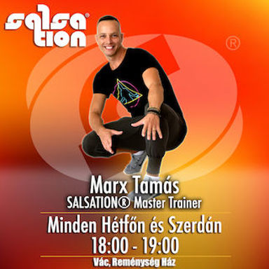 Picture of SALSATION® class with Tamas Marx, Wednesday, 18:00