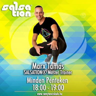 Picture of SALSATION® class with Tamas Marx, Friday, 18:00