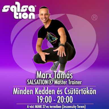 Picture of SALSATION® class with Tamas Marx, Tuesday, 19:00