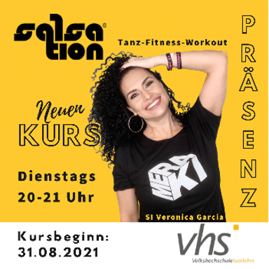 Picture of SALSATION® class with Veronica Garcia de Witzleb, Tuesday, 20:00