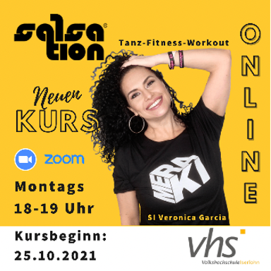 Picture of SALSATION® class with Veronica Garcia de Witzleb, Monday, 18:00