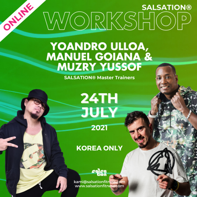 Picture of SALSATION, Workshop with Yoandro, Manuel and Muzry, 24 Jul 2021