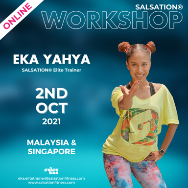 Picture of SALSATION, Workshop with Eka, Online, Malaysia and Singapore, 02 Oct 2021