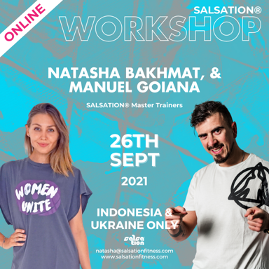 Picture of SALSATION, Workshop with Natasha and Manuel, Indonesia and Ukraine only, 26 Sep 2021