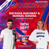 Picture of SALSATION, Workshop with Manuel and Natasha, Portugal Only, 19 Sep 2021