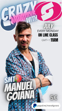 Picture of SALSATION® class with Manuel Goiana, Monday, 11:00
