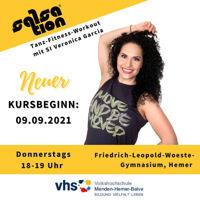 Picture of SALSATION® class with Veronica Garcia de Witzleb, Thursday, 18:00