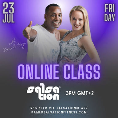 Picture of SALSATION® class with Kamila Wierzyńska, Friday, 15:00