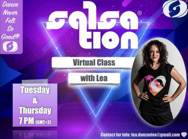 Picture of SALSATION® class with Lea Hataj, Tuesday, 19:00