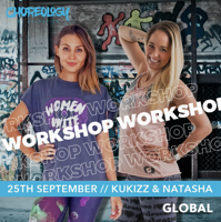 Picture of CHOREOLOGY Workshop with Kukizz and Natasha, Online, Global, 25 Sep 2021