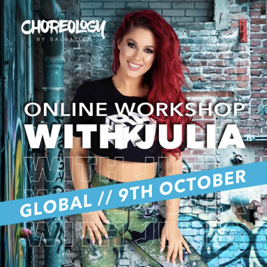 Picture of CHOREOLOGY Workshop with Julia, Online, Global, 09 Oct 2021