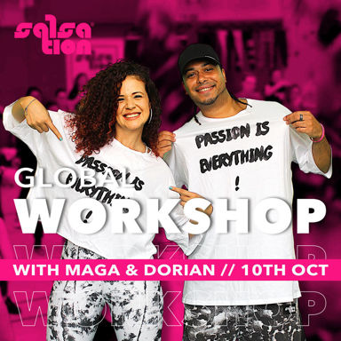 Picture of SALSATION, Workshop with Maga and Dorian, Online, Global, 10 Oct 2021